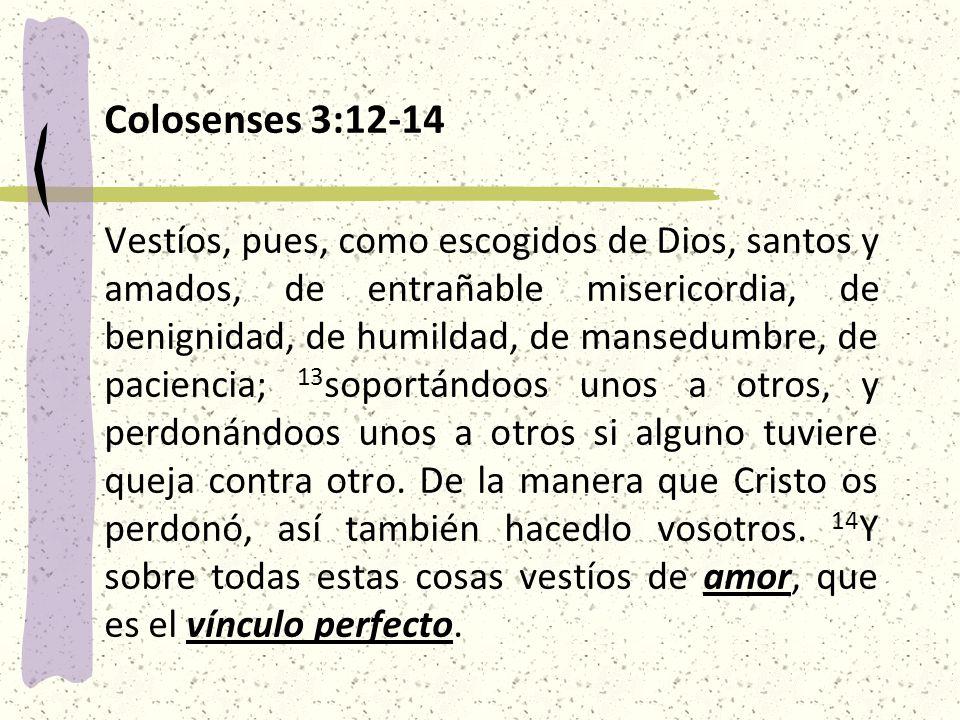 Colosenses 3:12-14
