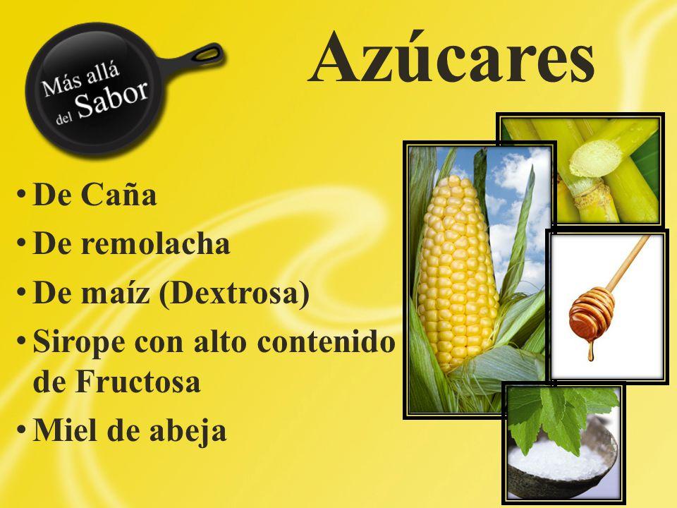 Azúcares De Caña De remolacha De maíz (Dextrosa)