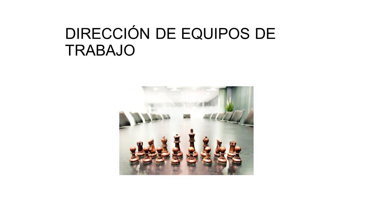 DIRECCIÓN DE EQUIPOS DE TRABAJO