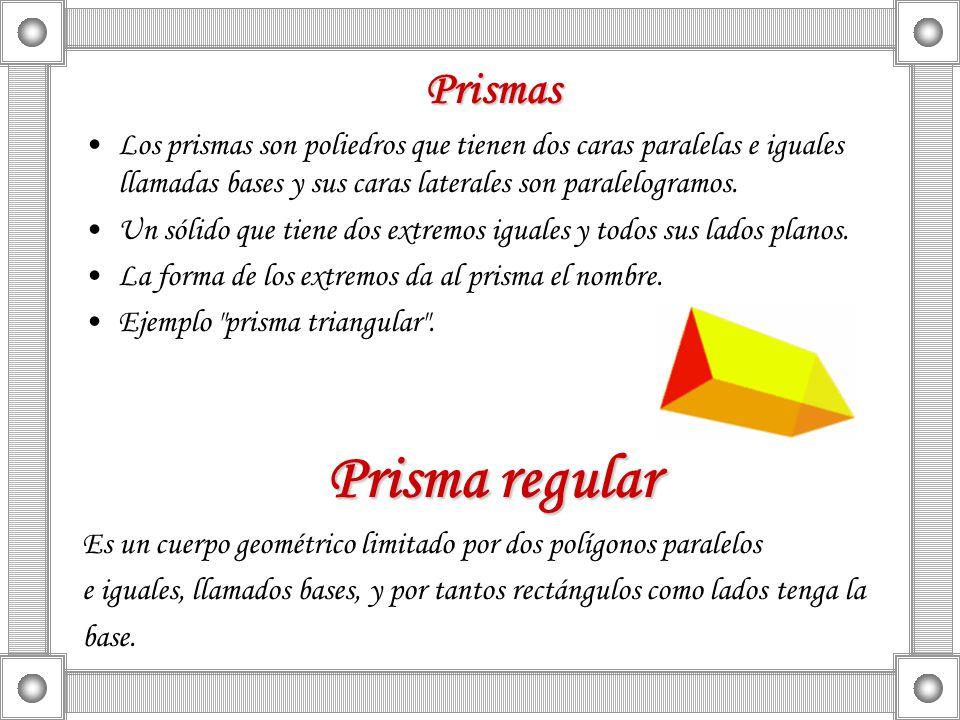 Prisma regular Prismas