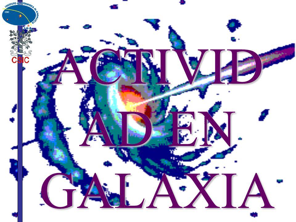 ACTIVIDAD EN GALAXIAS