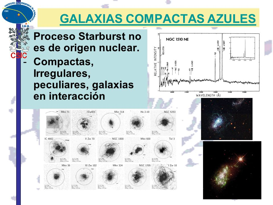 GALAXIAS COMPACTAS AZULES