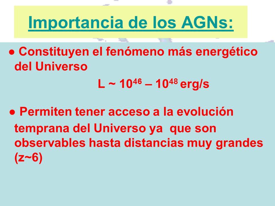 Importancia de los AGNs: