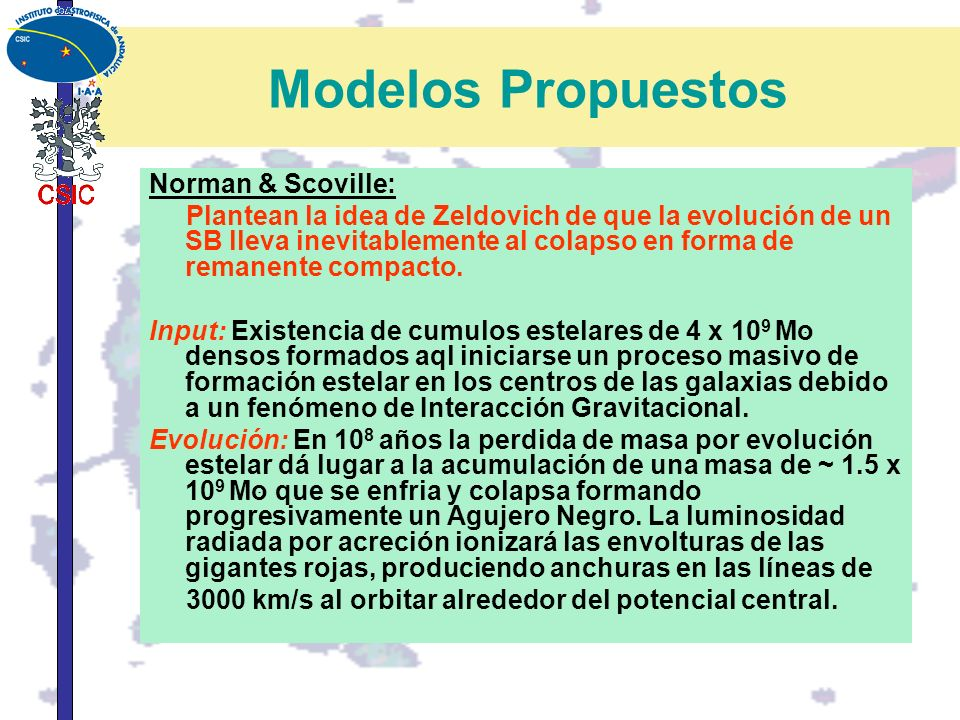 Modelos Propuestos Norman & Scoville: