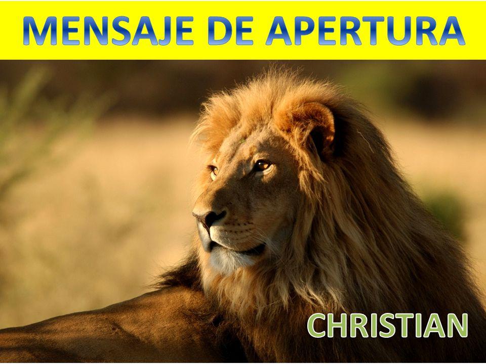 MENSAJE DE APERTURA CHRISTIAN