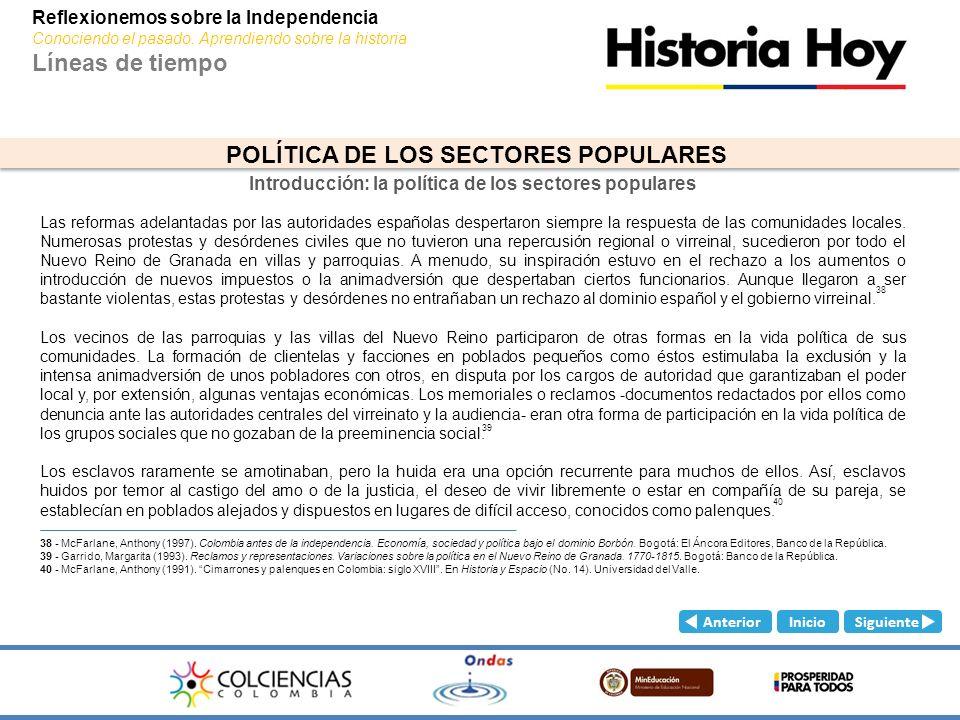 Introducción: la política de los sectores populares