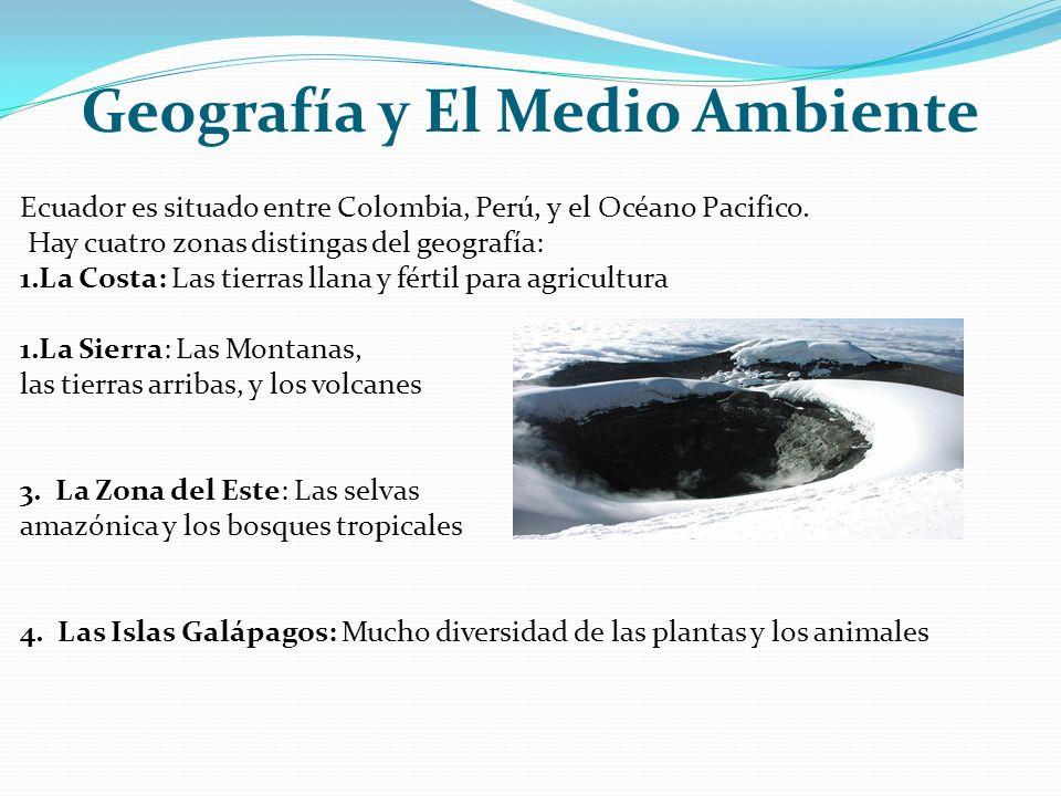 Geografía y El Medio Ambiente