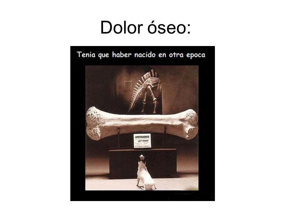 Dolor óseo: