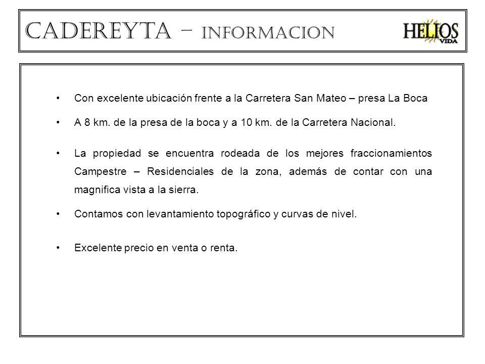 Cadereyta – INFORMACION