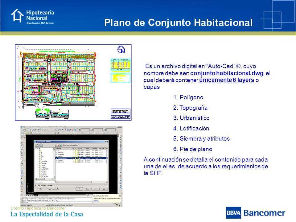Plano de Conjunto Habitacional