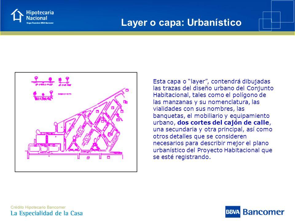 Layer o capa: Urbanístico
