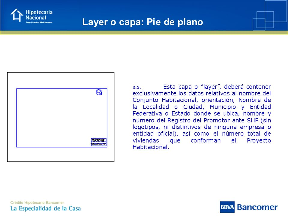 Layer o capa: Pie de plano