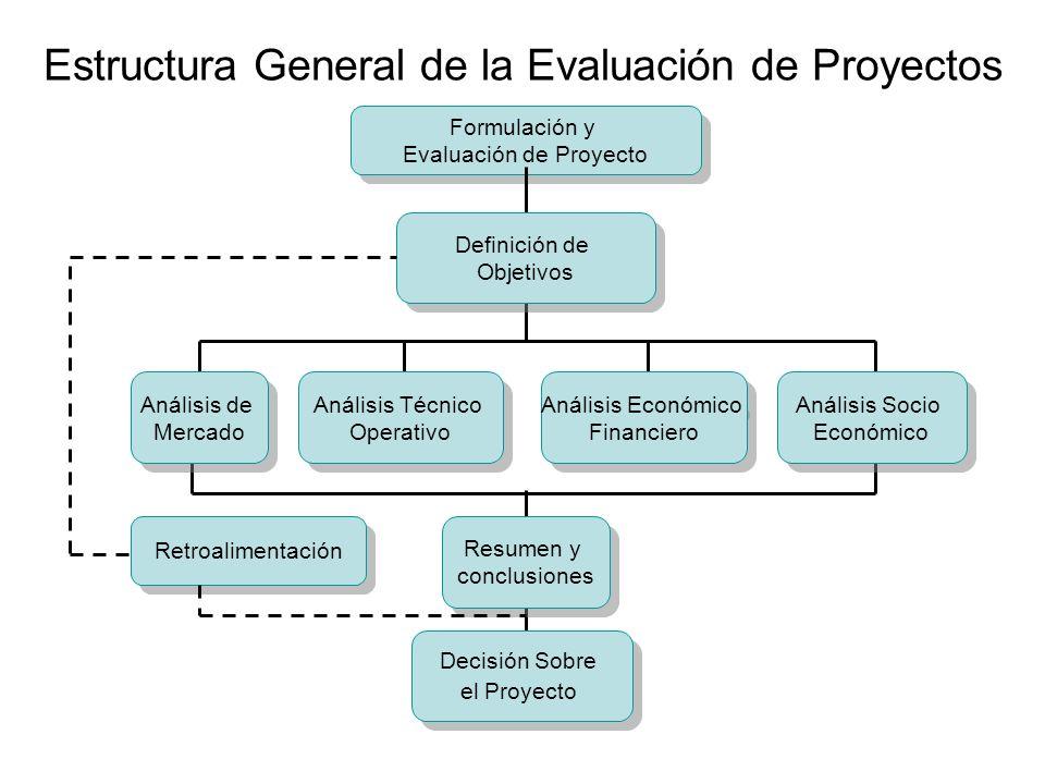 Estructura General de la Evaluación de Proyectos