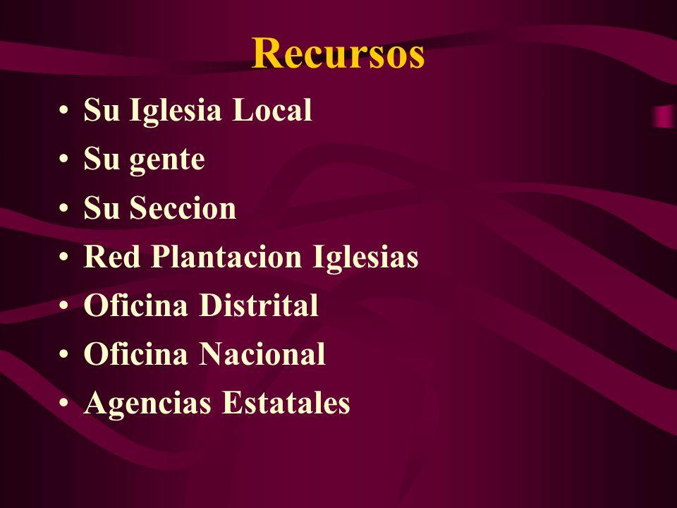 Recursos Su Iglesia Local Su gente Su Seccion Red Plantacion Iglesias