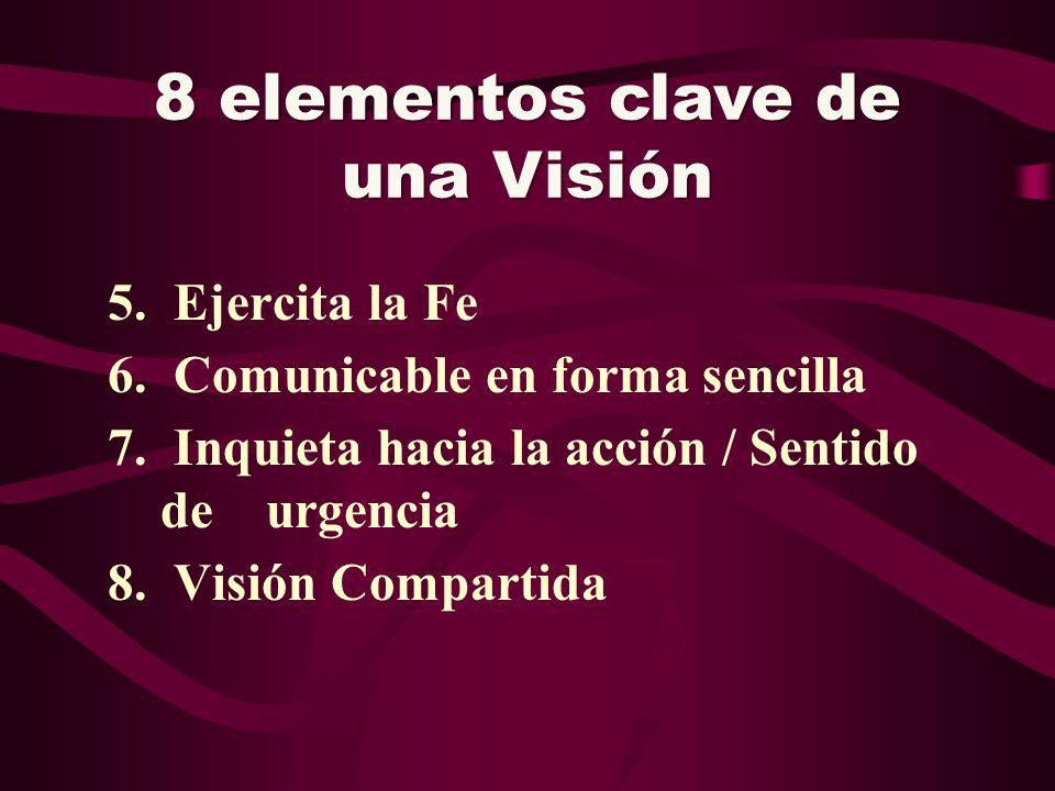 8 elementos clave de una Visión