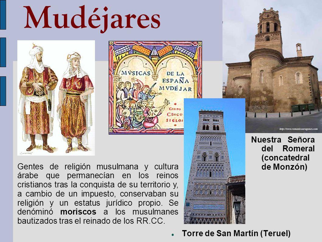 Mudéjares Nuestra Señora del Romeral (concatedral de Monzón)