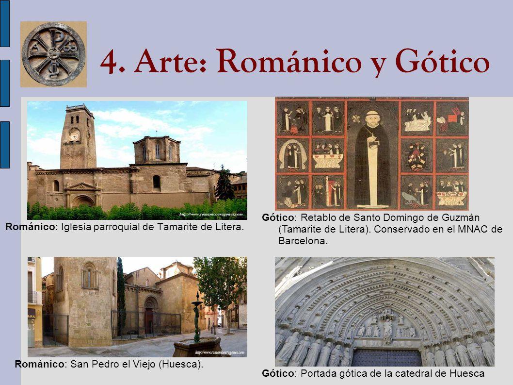 4. Arte: Románico y Gótico