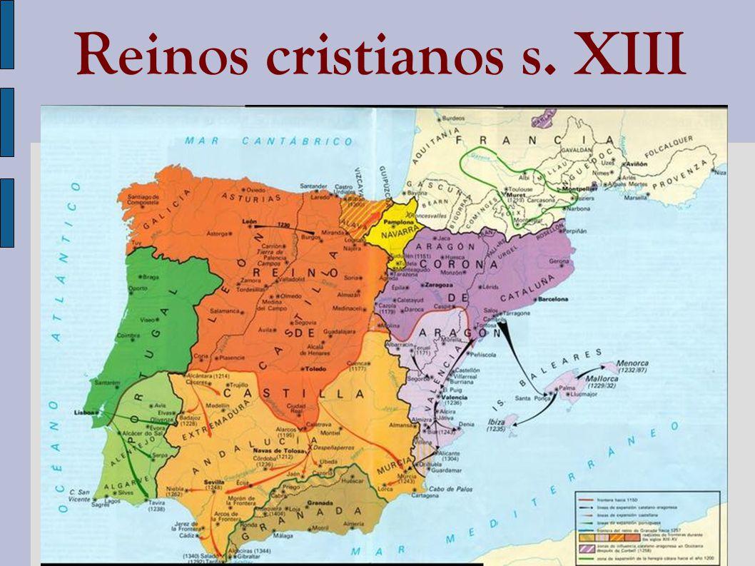 Reinos cristianos s. XIII