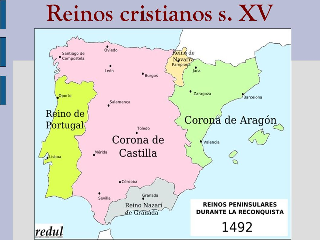 Reinos cristianos s. XV