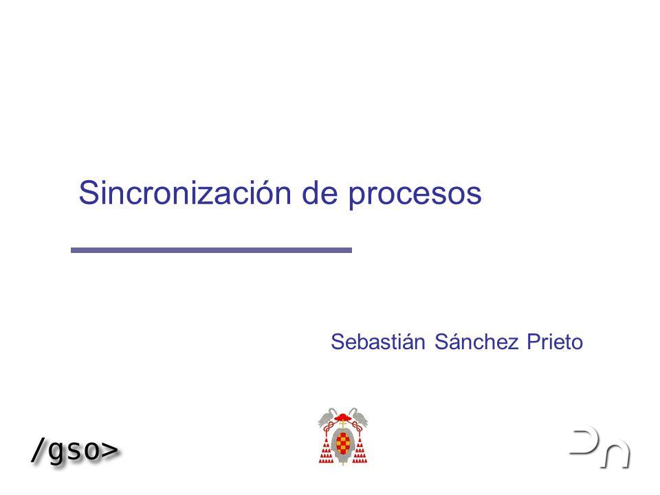 Sincronización de procesos