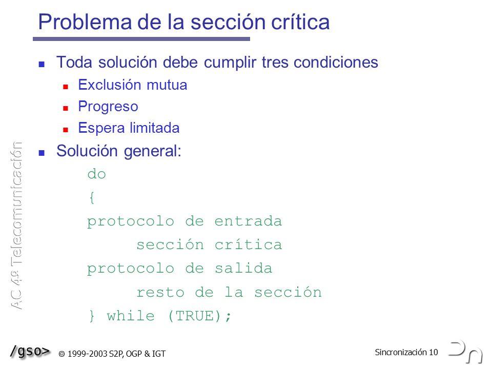 Problema de la sección crítica