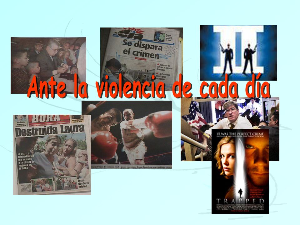 Ante la violencia de cada día