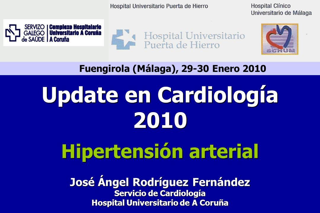 Update en Cardiología 2010 Hipertensión arterial