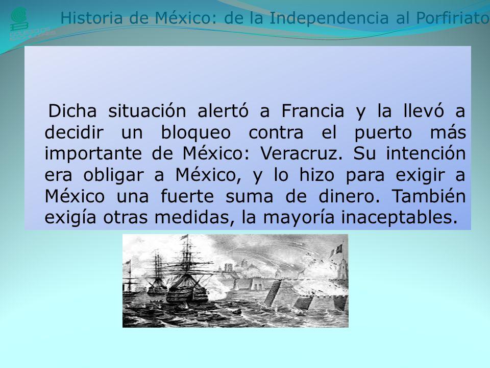 Historia de México: de la Independencia al Porfiriato