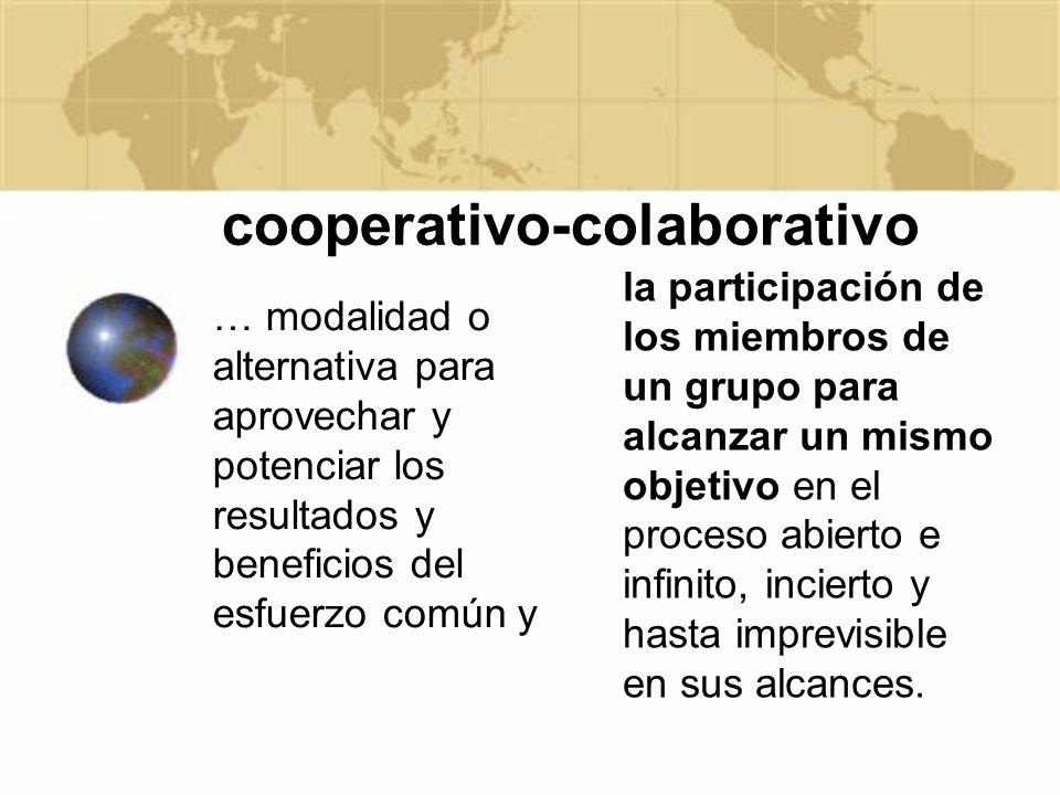 cooperativo-colaborativo