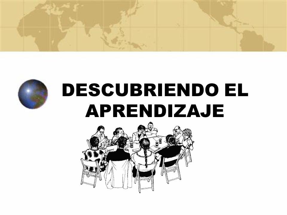 DESCUBRIENDO EL APRENDIZAJE