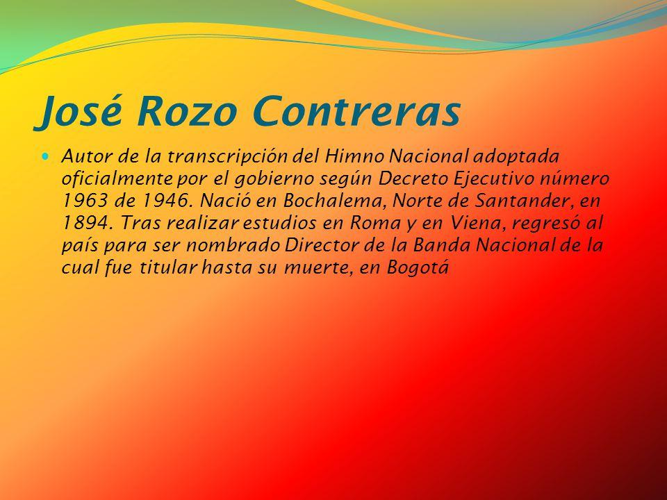 José Rozo Contreras