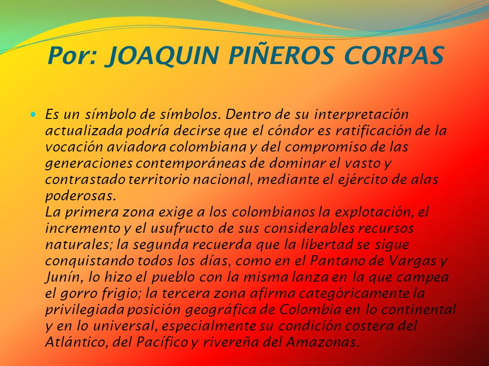Por: JOAQUIN PIÑEROS CORPAS