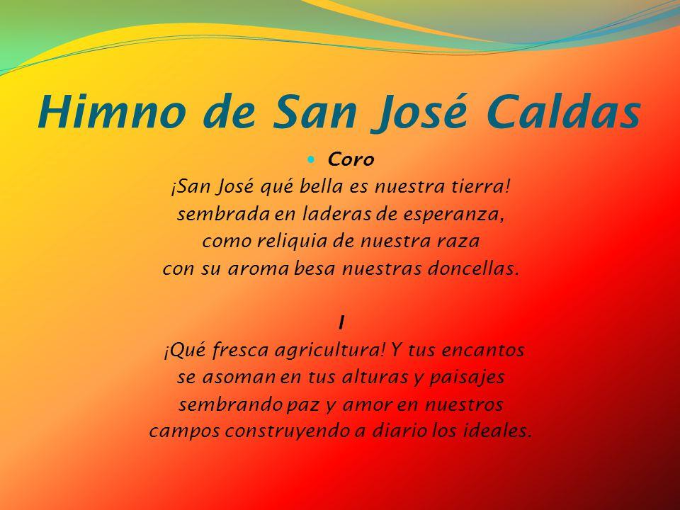 Himno de San José Caldas