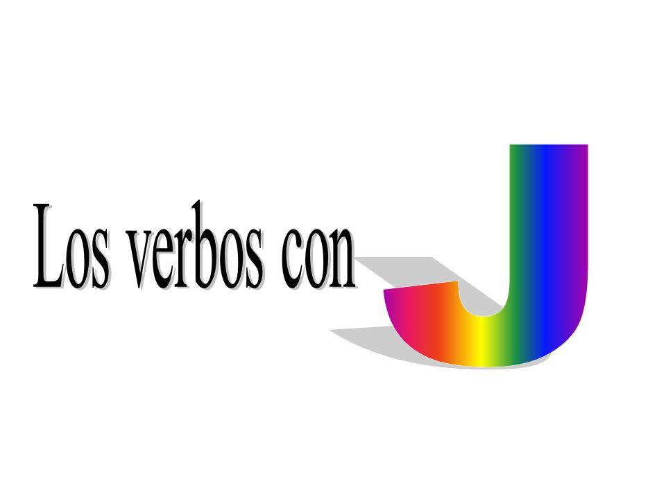 J Los verbos con