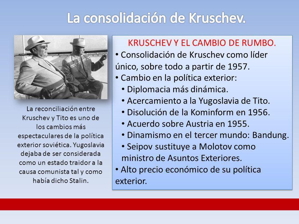 La consolidación de Kruschev.