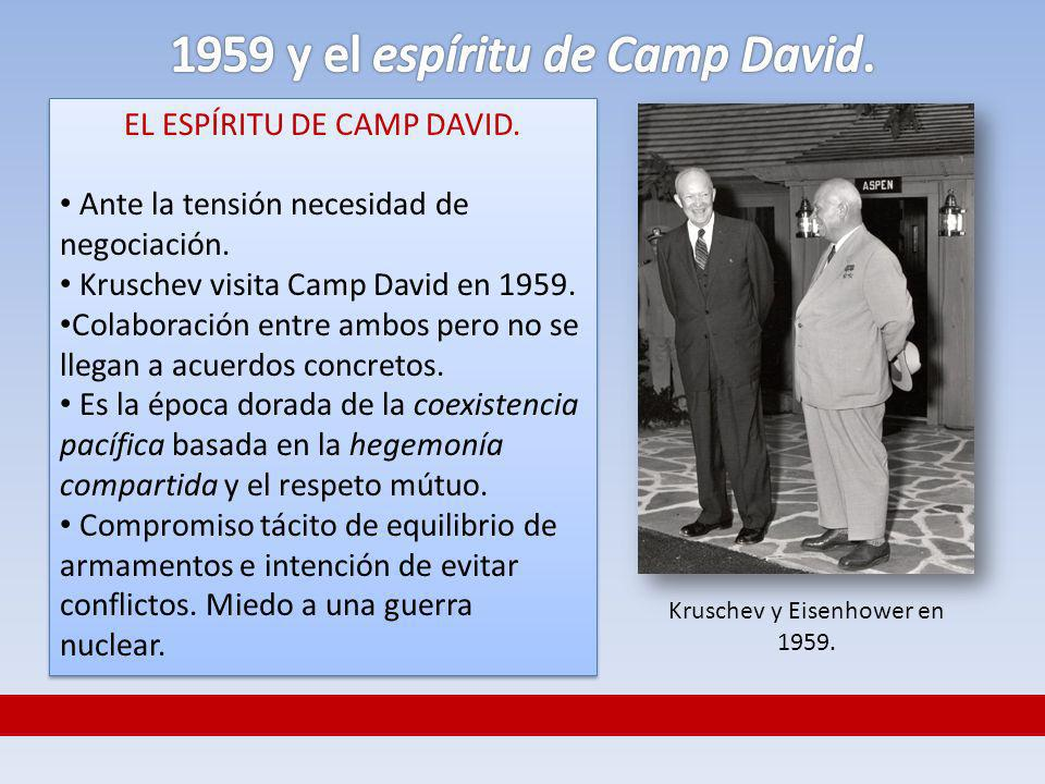 1959 y el espíritu de Camp David.