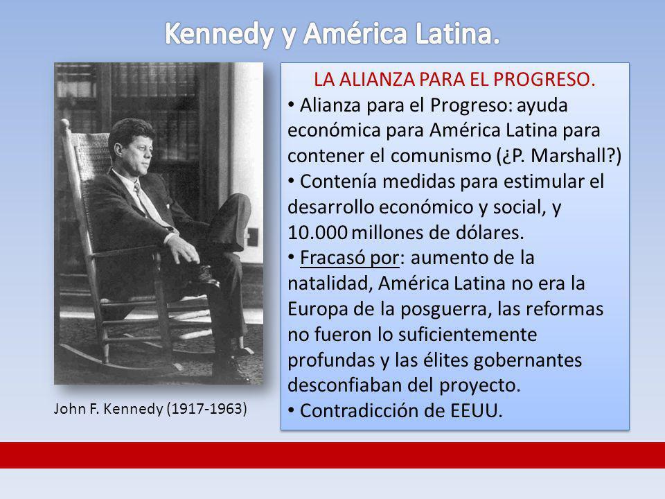 Kennedy y América Latina.