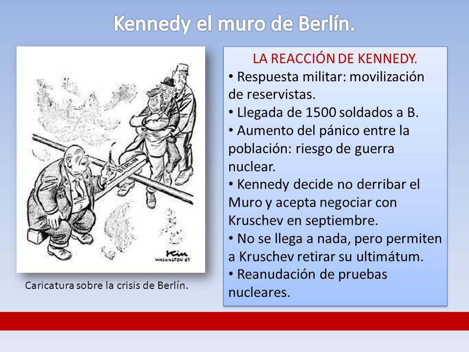 Kennedy el muro de Berlín.