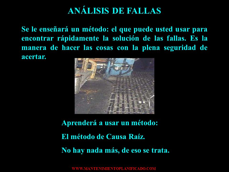 ANÁLISIS DE FALLAS