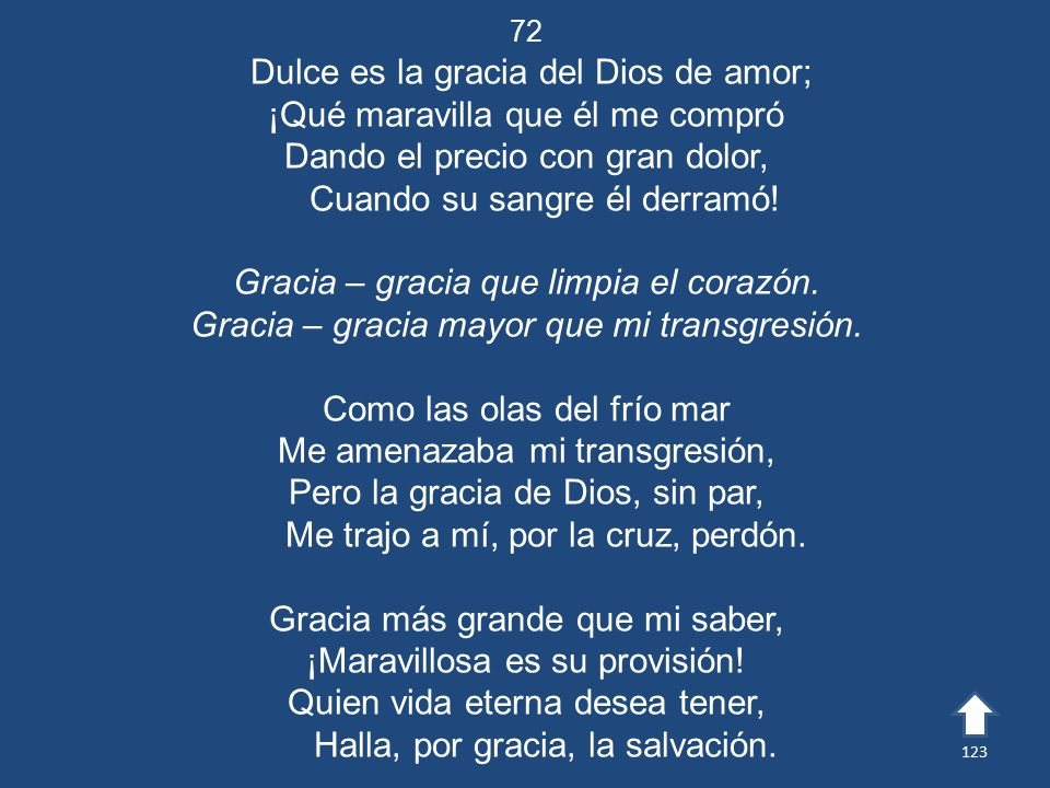 Dulce es la gracia del Dios de amor;
