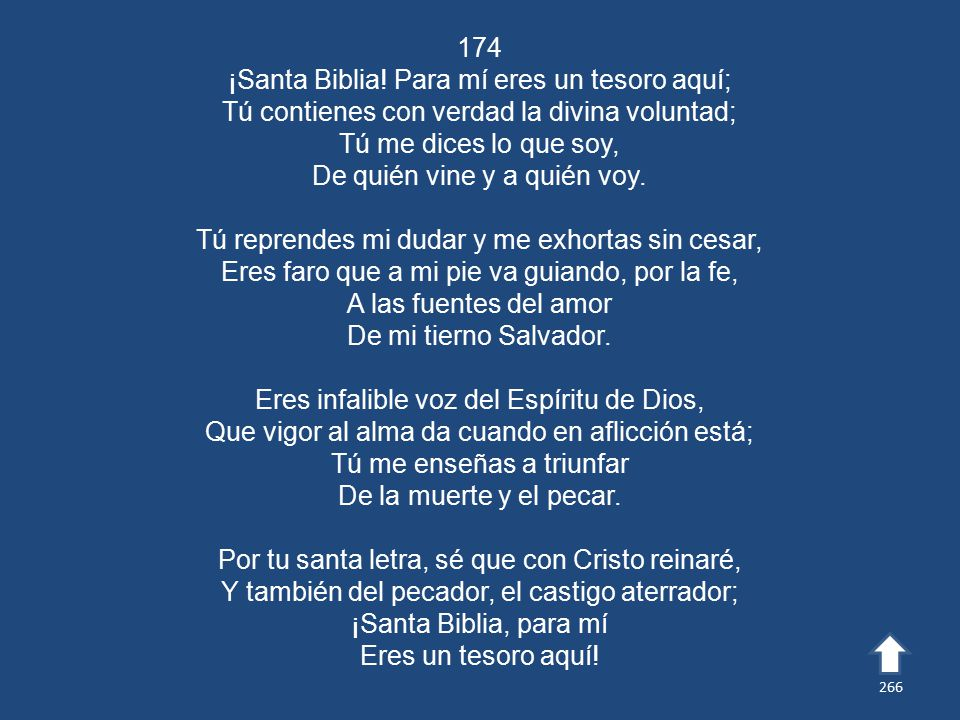 174 ¡Santa Biblia.