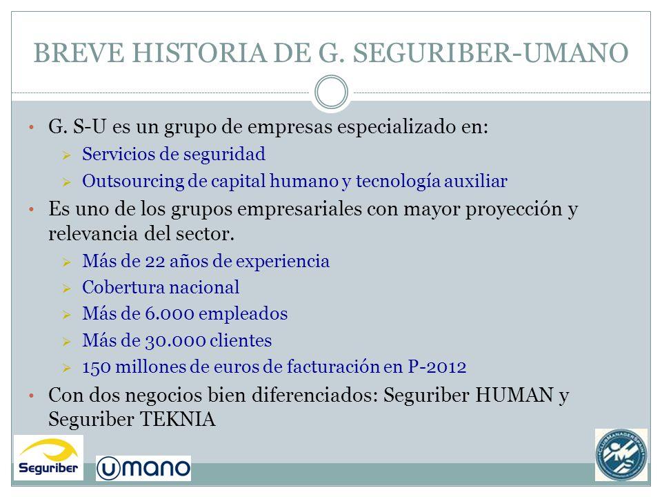 BREVE HISTORIA DE G. SEGURIBER-UMANO