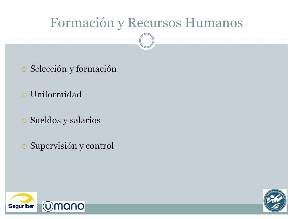 Formación y Recursos Humanos