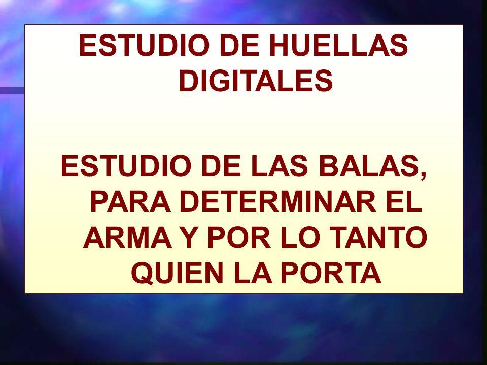 ESTUDIO DE HUELLAS DIGITALES