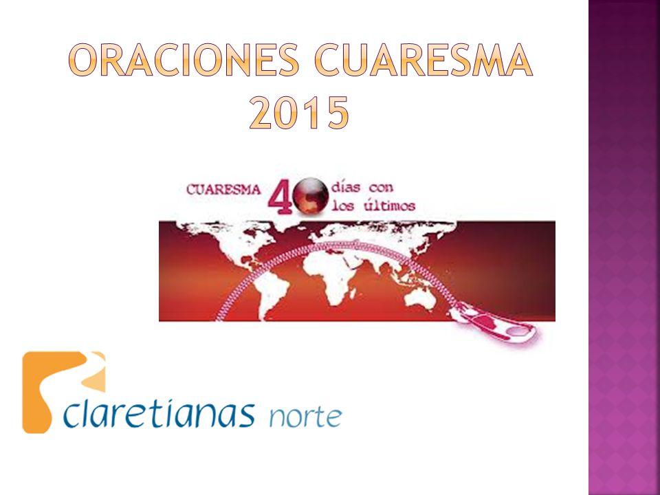 ORACIONES CUARESMA 2015