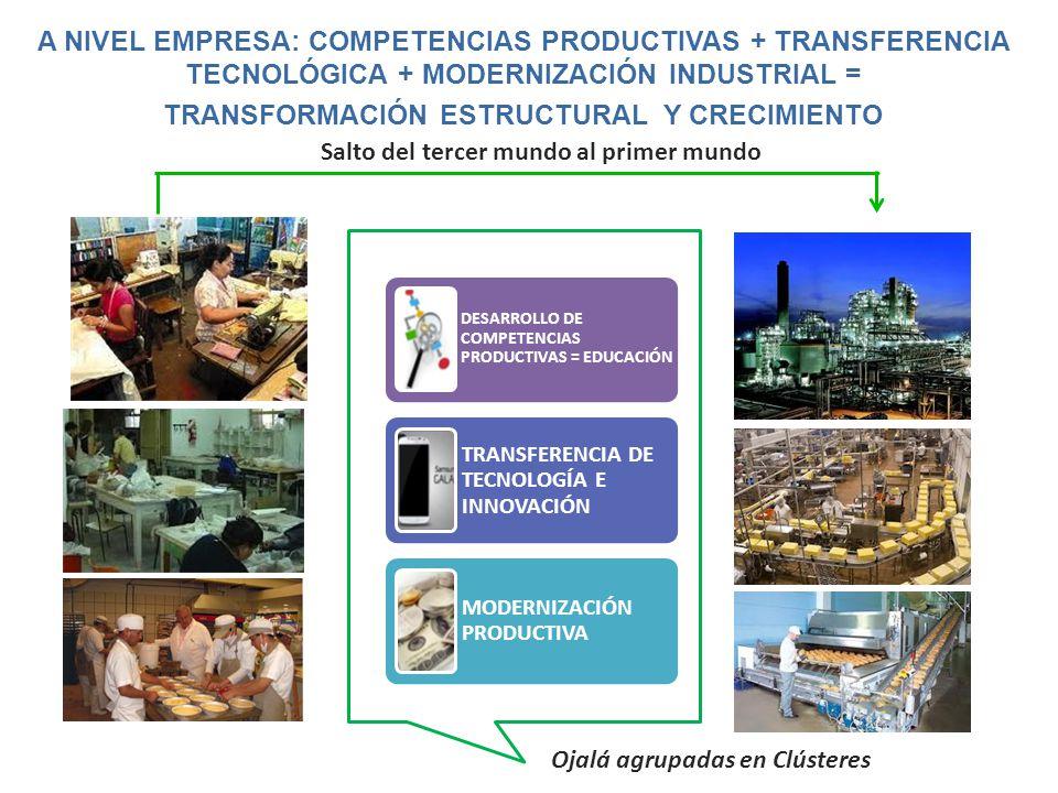 TRANSFORMACIÓN ESTRUCTURAL Y CRECIMIENTO