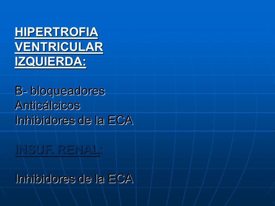 HIPERTROFIA VENTRICULAR IZQUIERDA:
