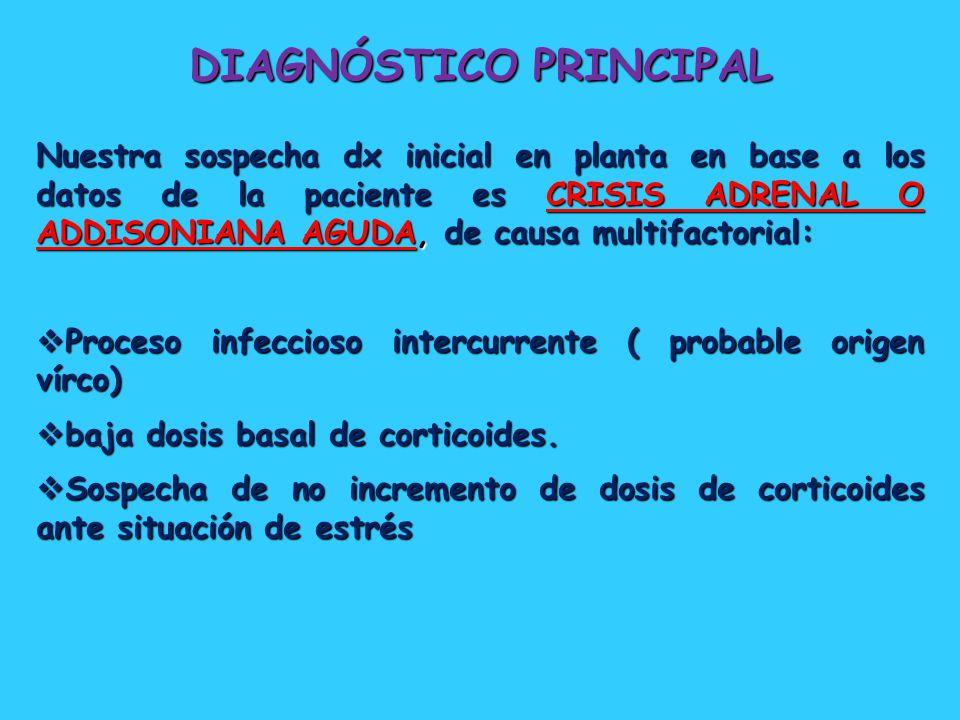 DIAGNÓSTICO PRINCIPAL