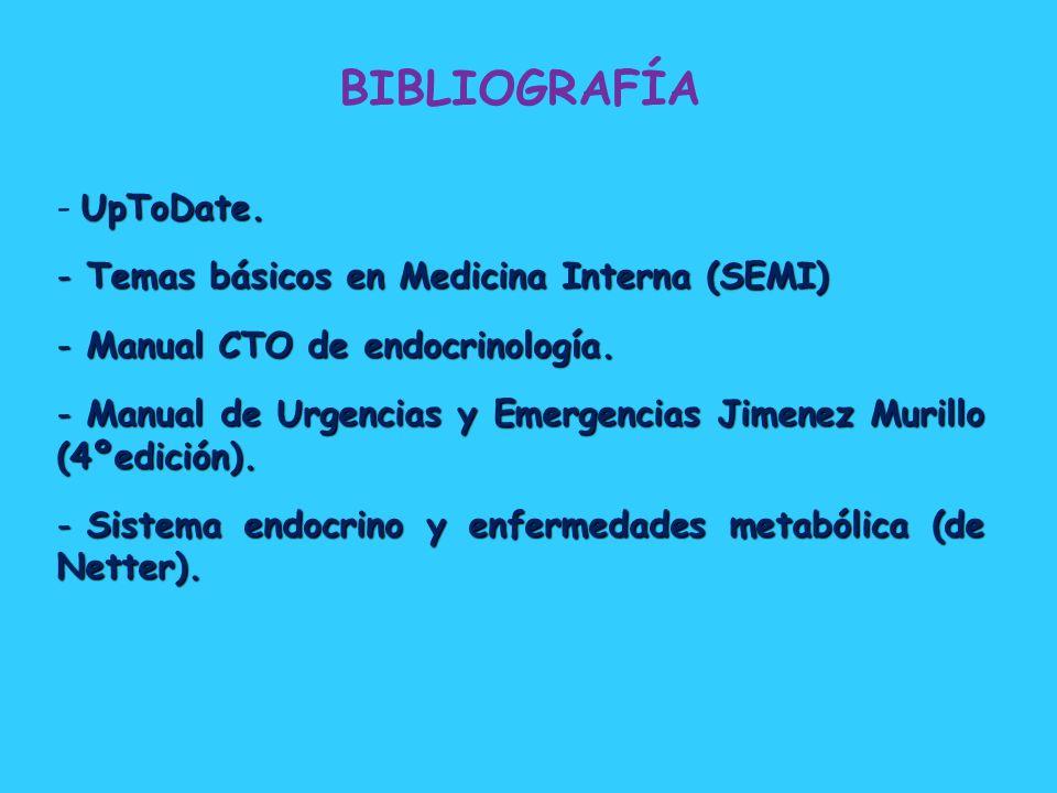 BIBLIOGRAFÍA UpToDate. Temas básicos en Medicina Interna (SEMI)