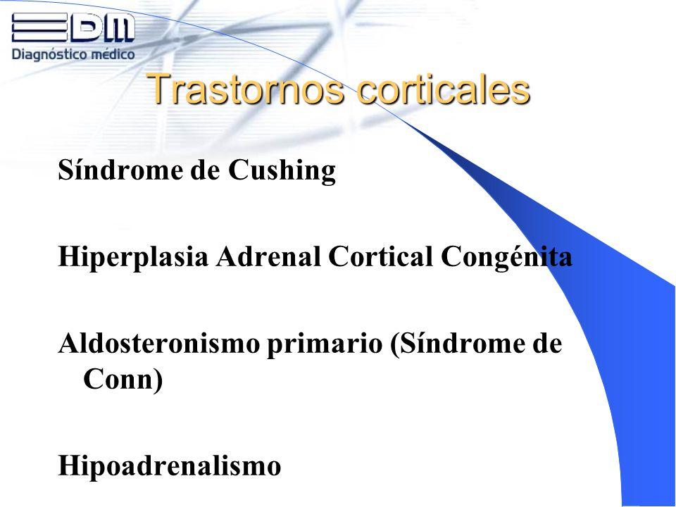 Trastornos corticales